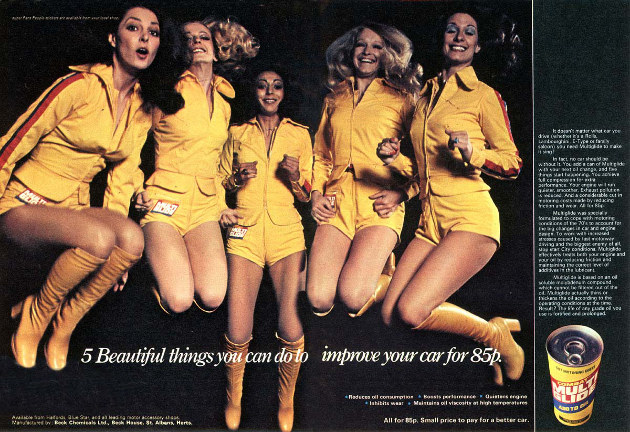 Sexist automotive advertising