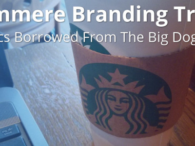 The Starbucks brand is strong