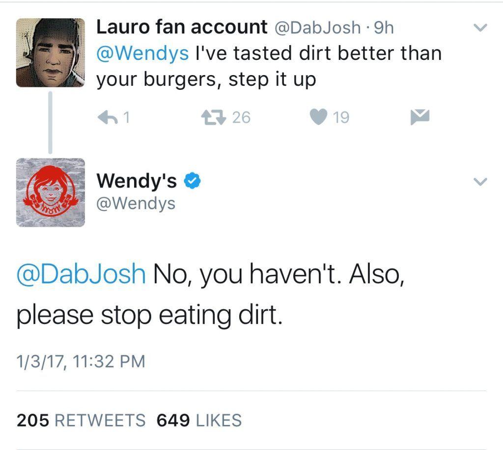 Wendy's on Twitter