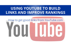 Building links on YouTube
