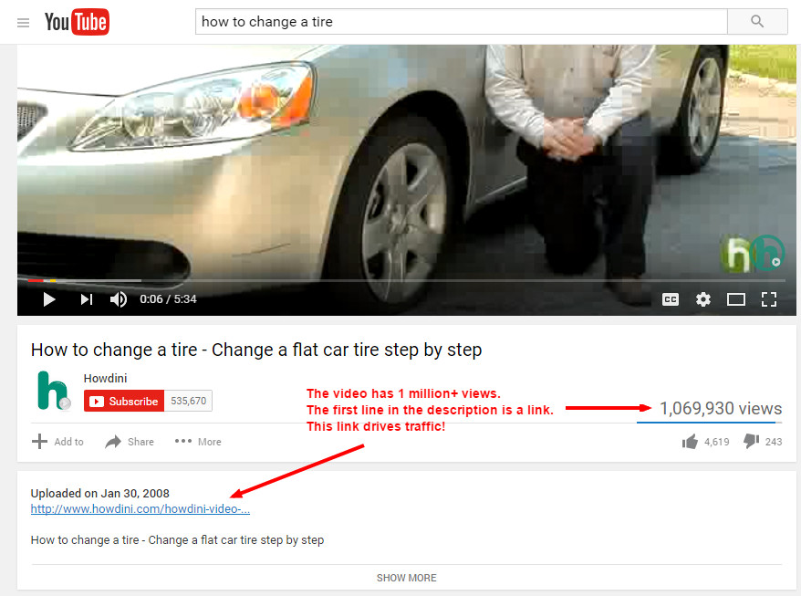 SEO and YouTube - Link Building On The Web's 2nd Biggest Search