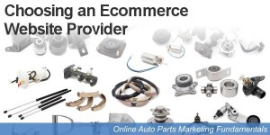 List of auto parts ecommerce website providers