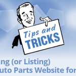 Finding (or Listing) An Auto Parts Website for Sale