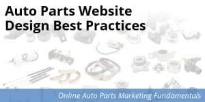 Best Practices for Auto Parts Website Designs