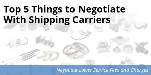 Negotiate shipping services