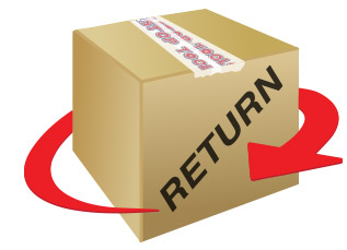 Return policy box