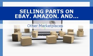 selling auto parts on marketplaces