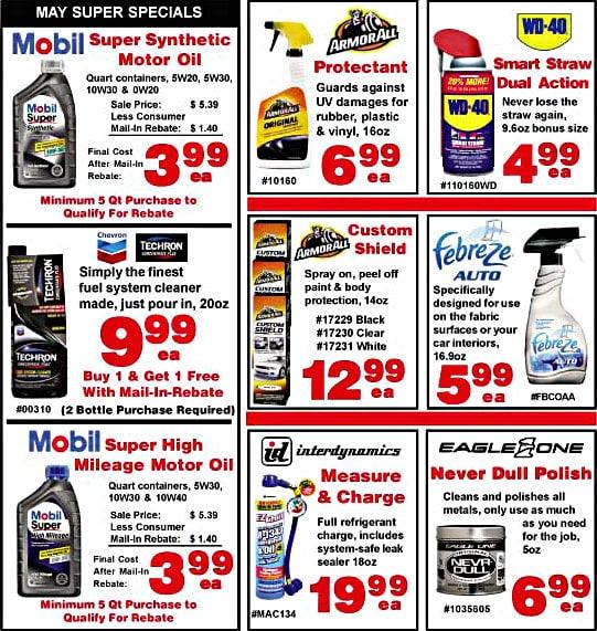 Sample sales flyer