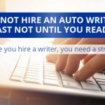 Do Not Hire An Automotive Content Writer Until You Read This