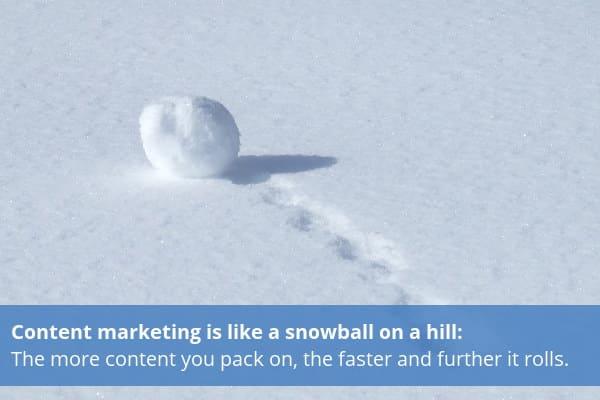 Snowball marketing
