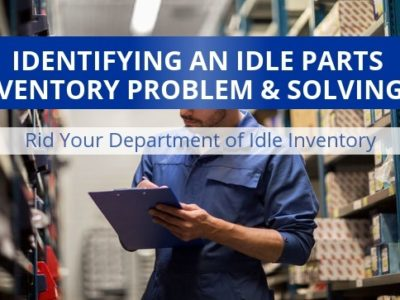 Idle parts inventory problems can be solved.