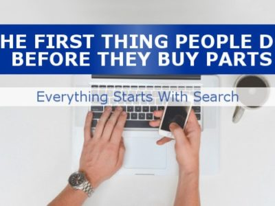 Using search for Auto Parts