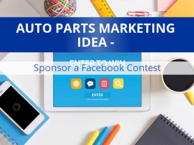 marketing idea sponsor a facebook contest