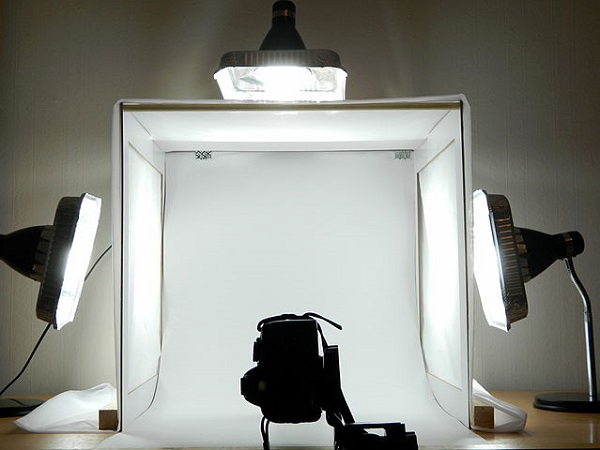 lighting set up for ecommerce product photos