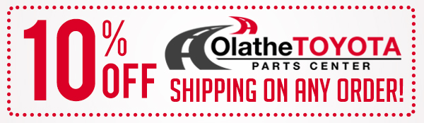 Example of auto parts site shipping discount