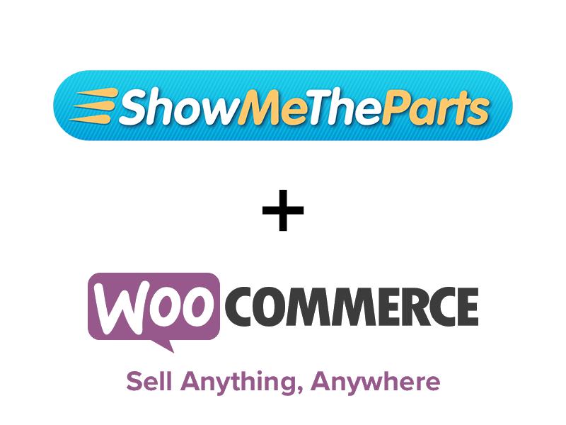 ShowMeTheParts plus WooCommerce