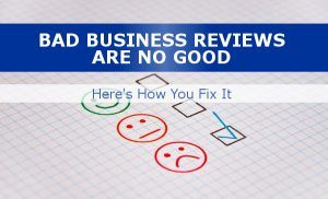 How to fix bad reviews