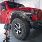 Jeep Wrangler in our studio