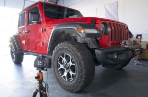 Jeep Wrangler in our studio