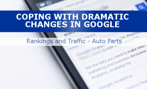 Coping with big changes in Google traffic
